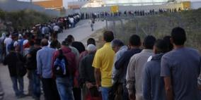 لتخيف التوتر.. آلاف العمال من قطاع غزة الى إسرائيل