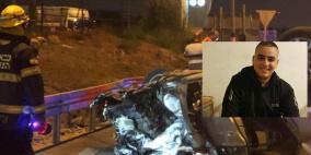 وفاة شاب إثر تصادم 3 سيارات قرب جلجولية