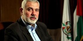 هنية: لا نعارض إقامة دولة على حدود 67