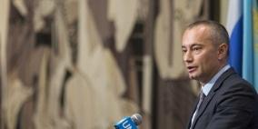 ملادينوف يطالب اسرائيل بوقف سياسة تدمير المباني