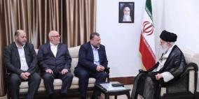 العاروري خلال لقاء خامنئي: نحن في مقدمة الجبهة الداعمة لإيران