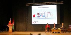 مختبرات مدلاب الراعي الذهبي لمؤتمر المغتربين في نابلس