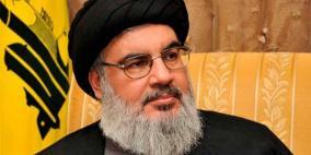 نصر الله يرحب بقرار وقف العمل بالاتفاقيات مع الاحتلال