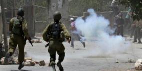 اندلاع مواجهات مع الاحتلال في بلدة سبسطية