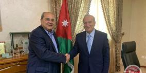 الطيبي يجتمع مع وزير التعليم العالي الاردني