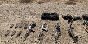 جيش الاحتلال ينشر صورا يزعم أنها أسلحة منفذي الهجوم