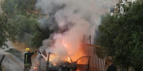 صور: مجهولون يصيبون مواطنا بالرصاص في بيت لحم