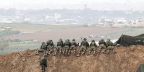 الاحتلال يدعي احباط عملية على حدود غزة