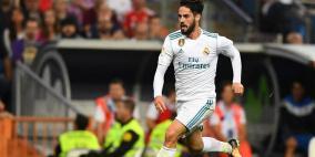 ايسكو يلحق بركب المصابين في ريال مدريد