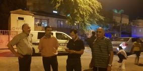 مجهولون يلقون قنبلة صوتية على منزل رئيس بلدية رهط