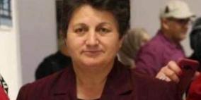 اعتقال المحاضرة في جامعة بيرزيت وداد البرغوثي