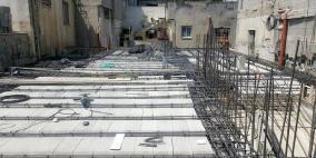 إعادة بناء منزل عائلة أبو حميد تنفيذاً لوعد الرئيس