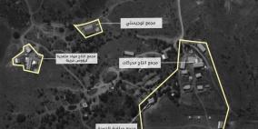 """""""اسرائيل"""" تنشر صورا زعمت انها لمصنع حزب الله للصواريخ الدقيقة في البقاع"""