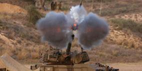 مدفعية الاحتلال تقصف مرصدا للمقاومة
