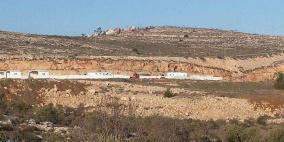 الاحتلال يستولي على 100 دونم جنوب نابلس