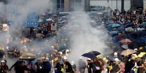 هونغ كونغ تحذر واشنطن من أي تدخل في الأزمة السياسية