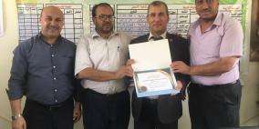 الإسلامي الفلسطيني يدعم مدرسة في غزة