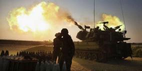 مدفعية الاحتلال تقصف موقعاً شرق غزة