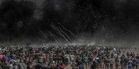 جمعة جديدة من مسيرات العودة في غزة
