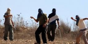 إصابة مواطن وتضرر مركبات إثر اعتداء للمستوطنين