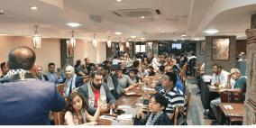 الجالية الفلسطينية تستضيف عدد من أعضاء البرلمان البريطاني ومجلس بلدي مانشستر