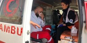 اصابة مسعفان في مواجهات العيزرية شرق القدس