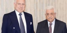 الرئيس يلتقي رئيس الكونغرس اليهودي العالمي