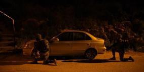 اعتقالات ومصادرة مركبات في الضفة