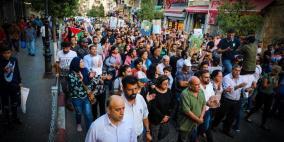 مسيرة في رام الله لإسناد الأسرى المرضى