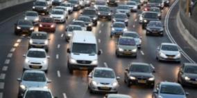 الشرطة الاسرائيلية تعلن بدء سريان قانون انارة مصابيح المركبات في النهار