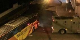 اصابات خلال مواجهات اعقبت اقتحام المستوطنين مقام يوسف في نابلس