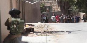 إصابة عدد من الفتية والأطفال بالاختناق في قرية دير نظام