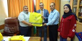 الإسلامي الفلسطيني يدعم مدرسة في قباطية