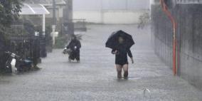 """قتيل في اليابان وإجلاء لمليون شخص مع اقتراب اعصار """"هاغيبيس"""""""