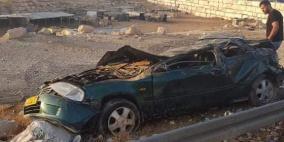 وفاة شابين في حادث سير قرب بلدة العيزرية