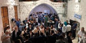 51 اصابة خلال اقتحام مئات المستوطنين مقام يوسف