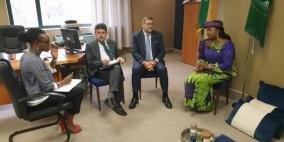 السفير الدجاني يلتقي نائبي رئيس برلمان عموم أفريقيا