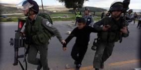 الاحتلال يعتقل طفلاً في قلقيلية
