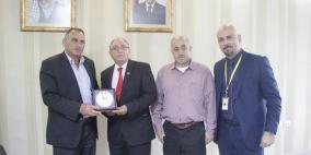 الإسلامي الفلسطيني يدعم بلدية حلحول