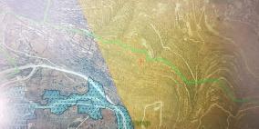 مخطط استيطاني للاستيلاء على نحو 700 دونم من أراضي قريوت
