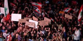 وسط دعوات إلى إضراب عام.. احتجاجات لبنان تدخل يومها السابع