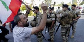 احتجاجات لبنان تدخل أسبوعها الثاني