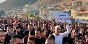 تصعيد الخطوات الاحتجاجية ضد استفحال الجريمة في الداخل الفلسطيني