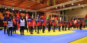إزاحة الستارة عن منافسات بطولة فلسطين الدولية الرابعة للتايكواندو