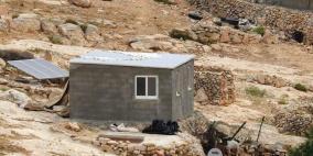 اخطار ستة مساكن في مسافر يطا