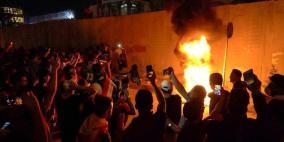 3 قتلى عراقيين بأحداث القنصلية الإيرانية في كربلاء