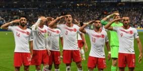 اردوغان يهاجم الاتحاد الاوروبي لكرة القدم على خلفية التحية العسكرية