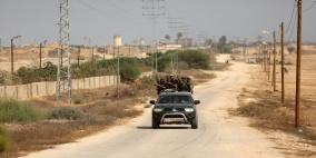 داخلية غزة تحبط محاولة تسلل إلى سيناء وتشتبك مع مسلحين