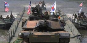 مناورات عسكرية أميركية كورية جنوبية نهاية الشهر الجاري