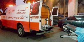 إصابة شابين في حادث دهس غرب نابلس
